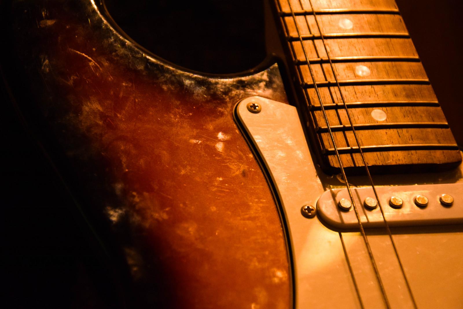 Fond d'écran : vieux, instrument de musique, la musique, fermer, guitariste, guitare électrique ...
