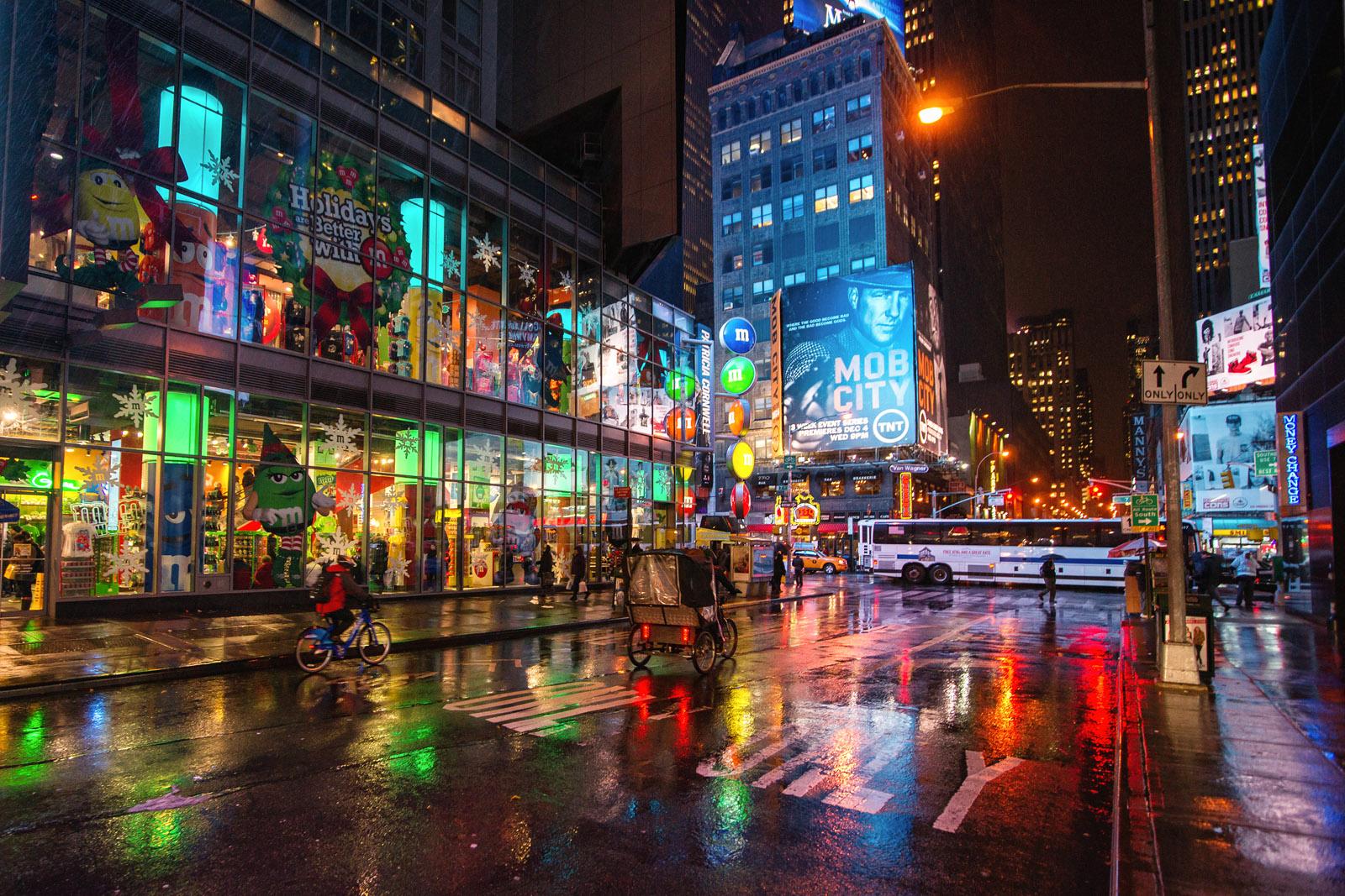 Wallpaper Road Street New York City Nyc November Winter