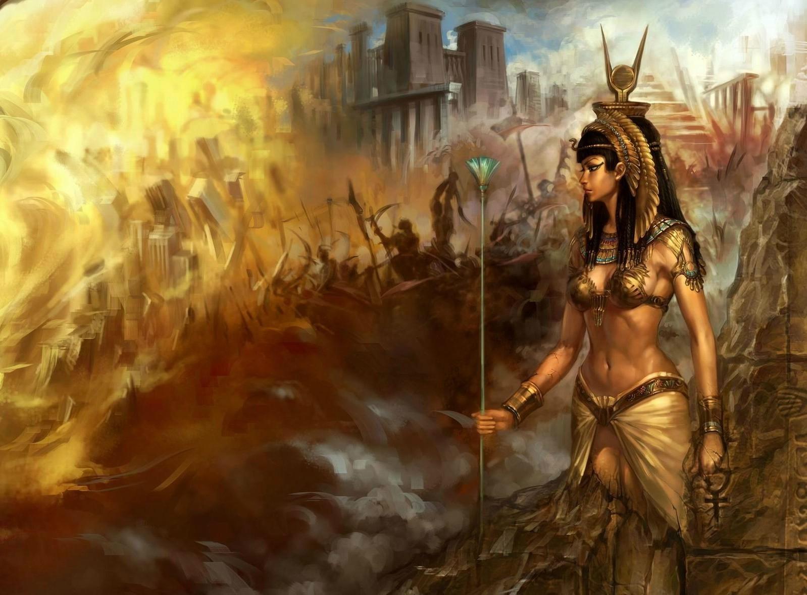 Wallpaper Fantasy Art Artwork Egyptian Mythology