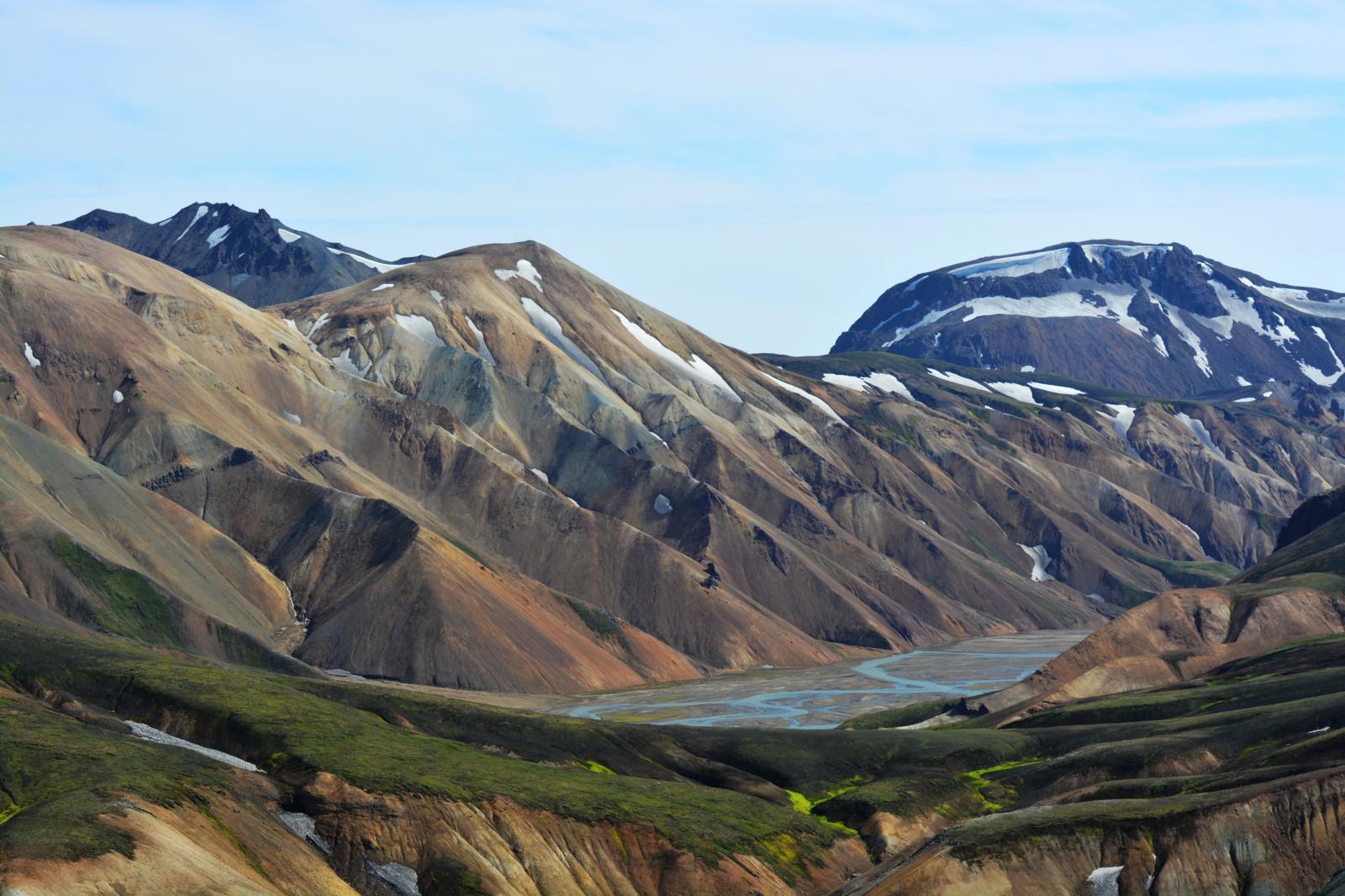 Wallpaper highland mountainous landforms wilderness fell ridge sky hill tundra - Highland park wallpaper ...