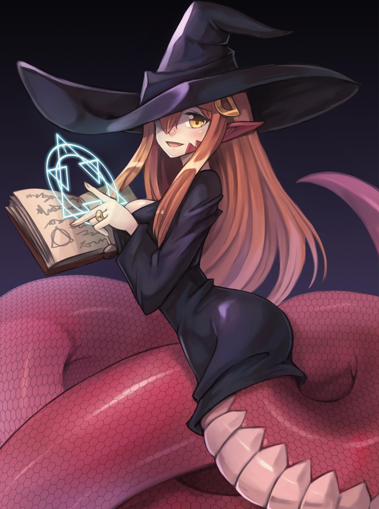 Фото аниме девушки монстры