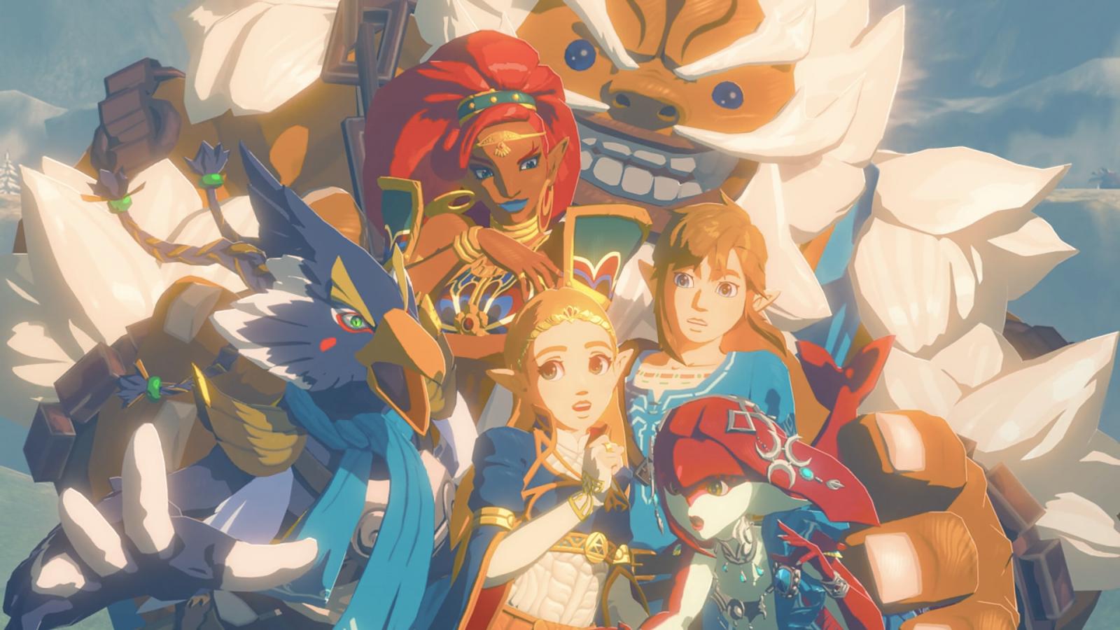 Wallpaper Botw The Legend Of Zelda Breath Of The Wild The
