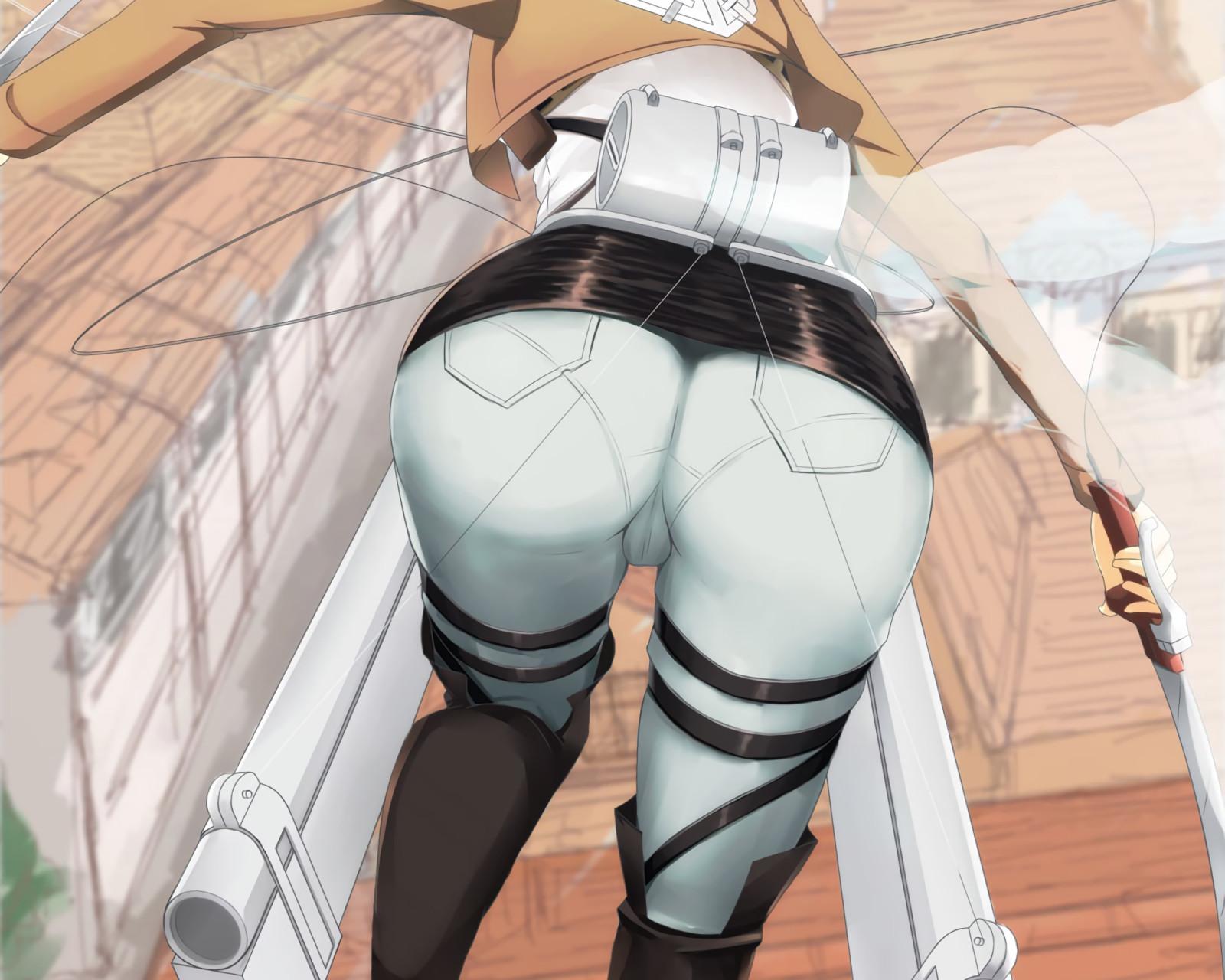 Wallpaper : Mikasa Ackerman, Shingeki no Kyojin, anime