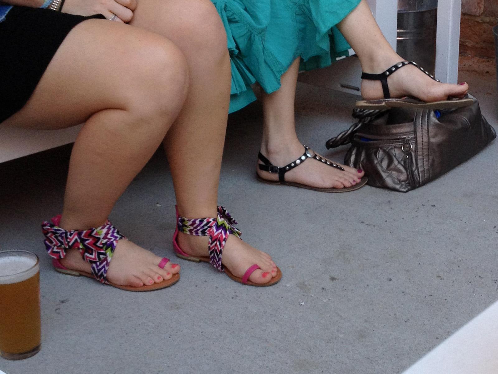 and Ebony feet legs