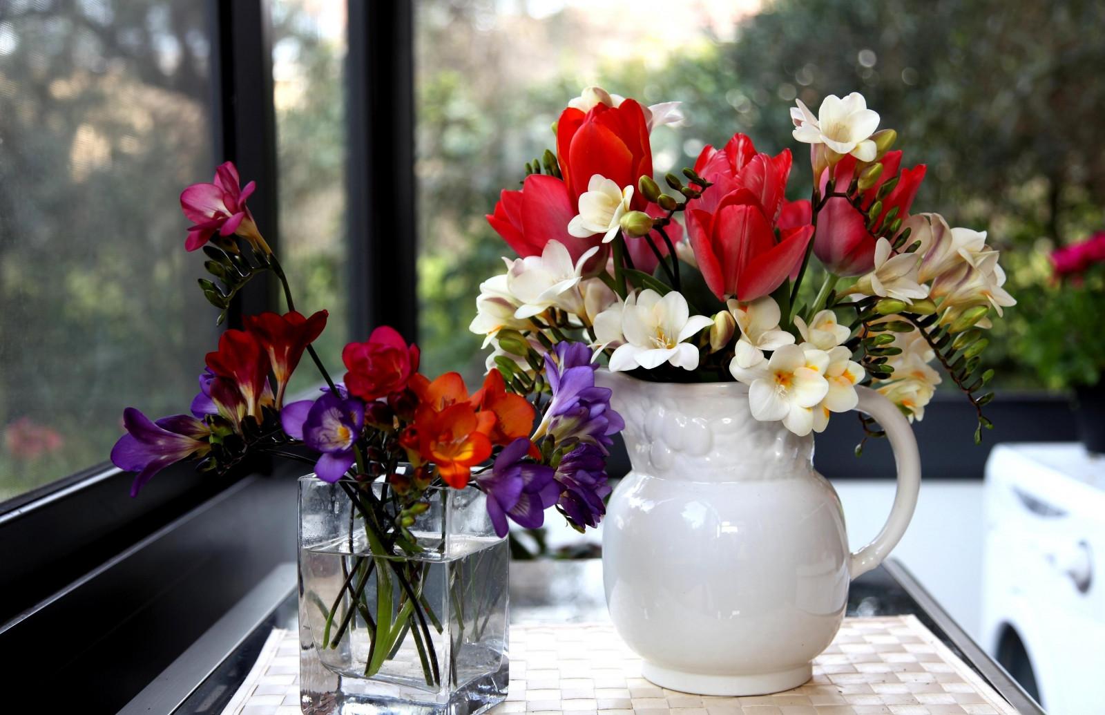 Красивые картинки с вазами цветов