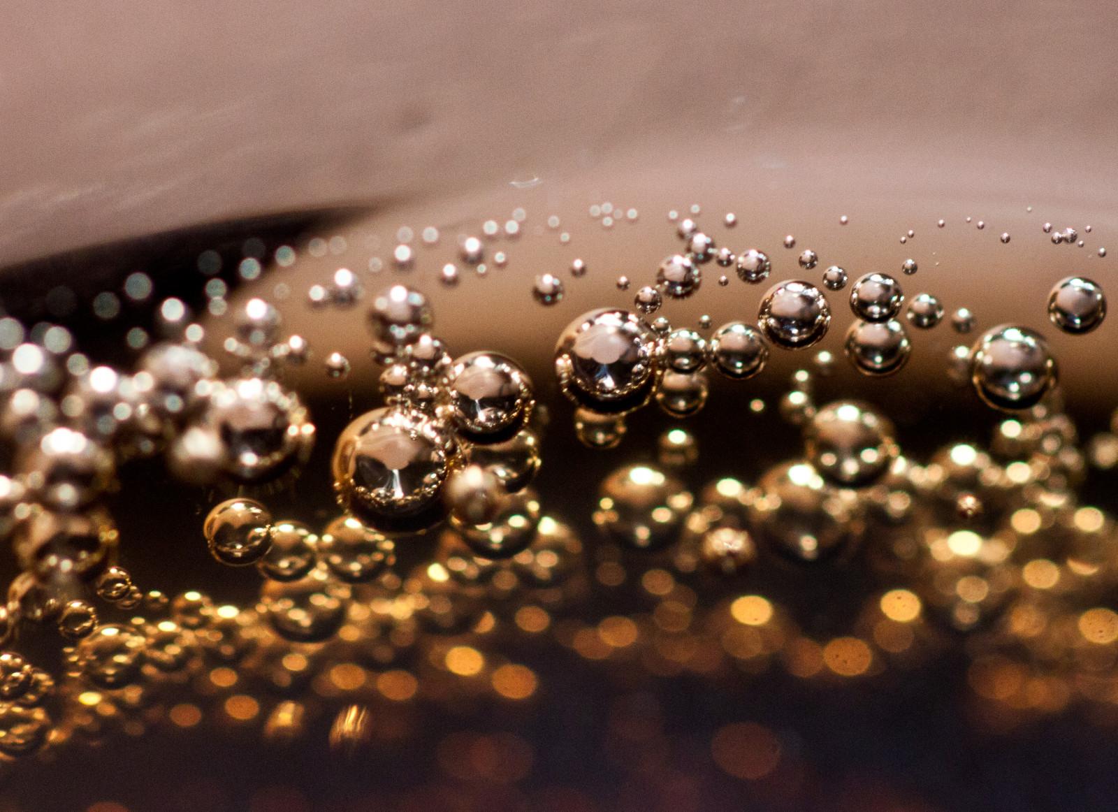 Fond d'écran : eau, la photographie, marron, métal, bulles, rosée, laissez tomber, fermer ...