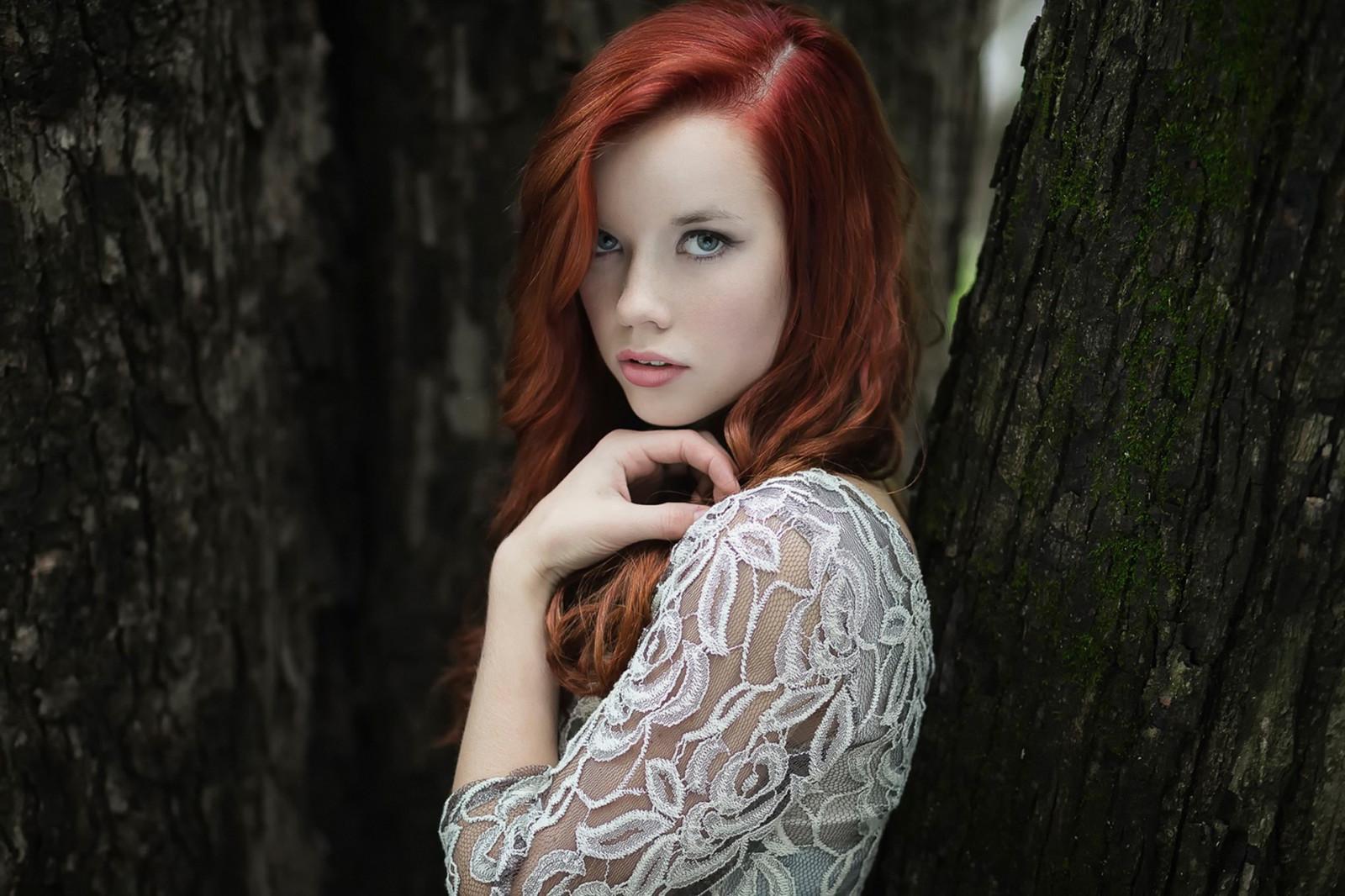 Рыжая женщина фото — pic 9