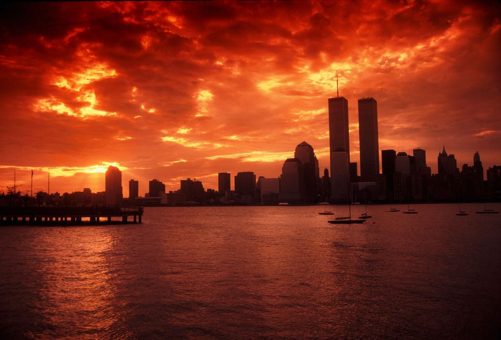 Fond d 39 cran nouveau le coucher du soleil new york - Coucher du soleil new york ...