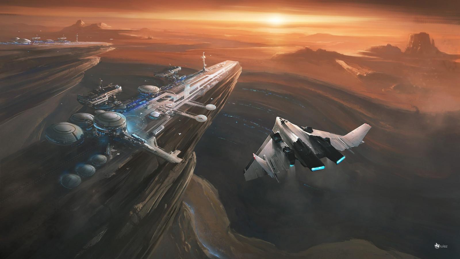 перуанская волна космические корабли будущего картинки рабочий стол совсем