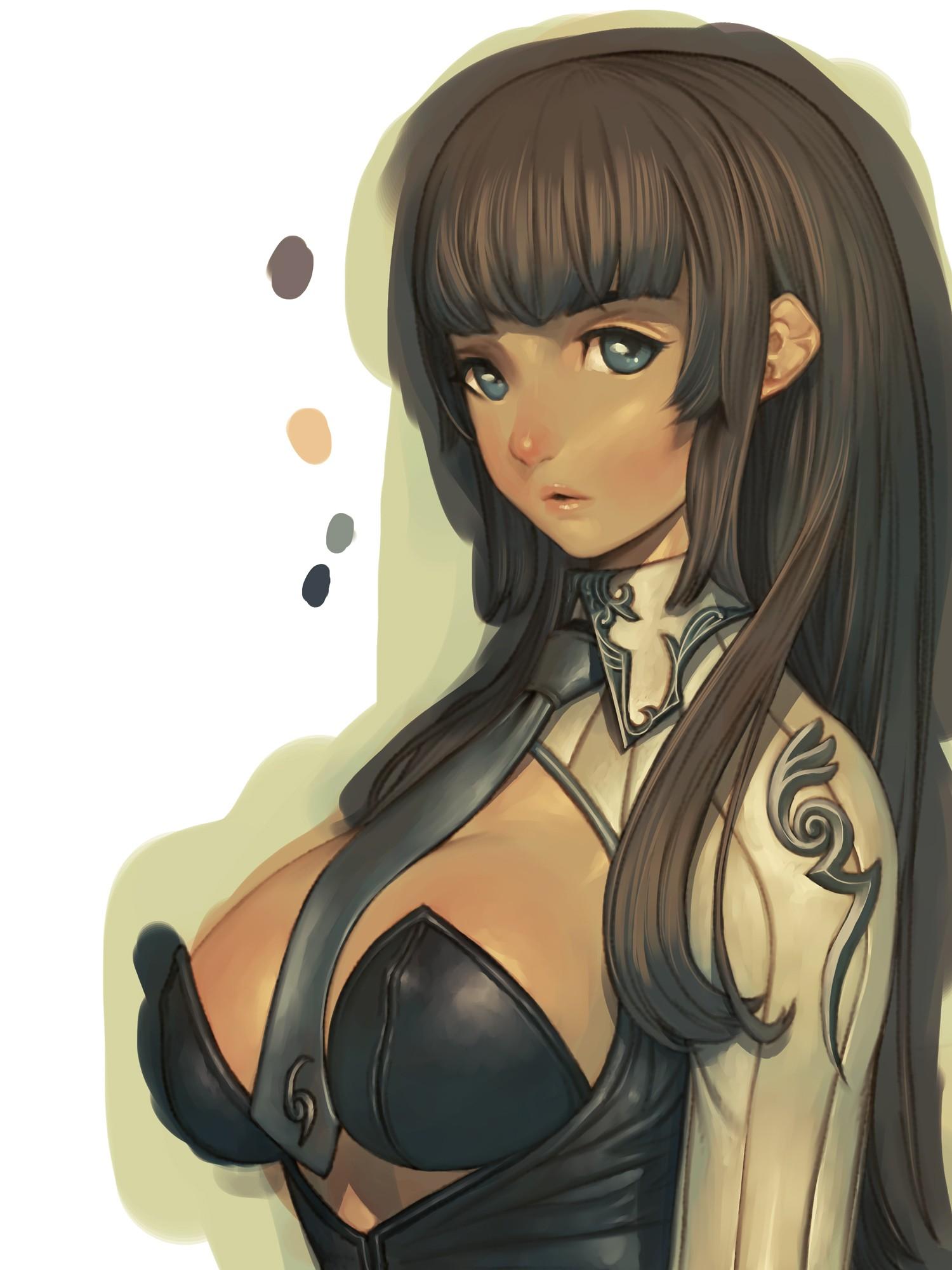 Yokais Tensai Anime_girls_brunette-323142