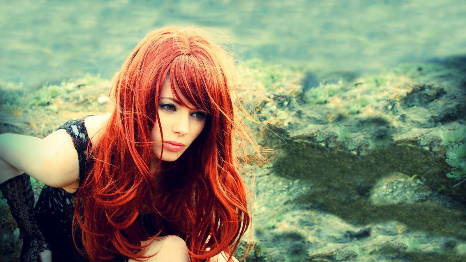 Фото рыженькие девушки на аву в