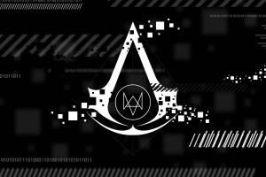 黒 モノクロ テキスト ロゴ コード Ubisoft ウォッチ・ドッグス ブランド スクリーンショット 1920x1200 px アサシンクリード 黒と白 モノクロ写真 フォント