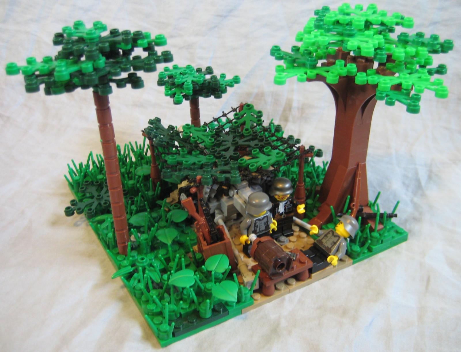 Folkekære Baggrunde : træ, plante, blomsterkrukke, stueplante, LEGO, græs JC-95