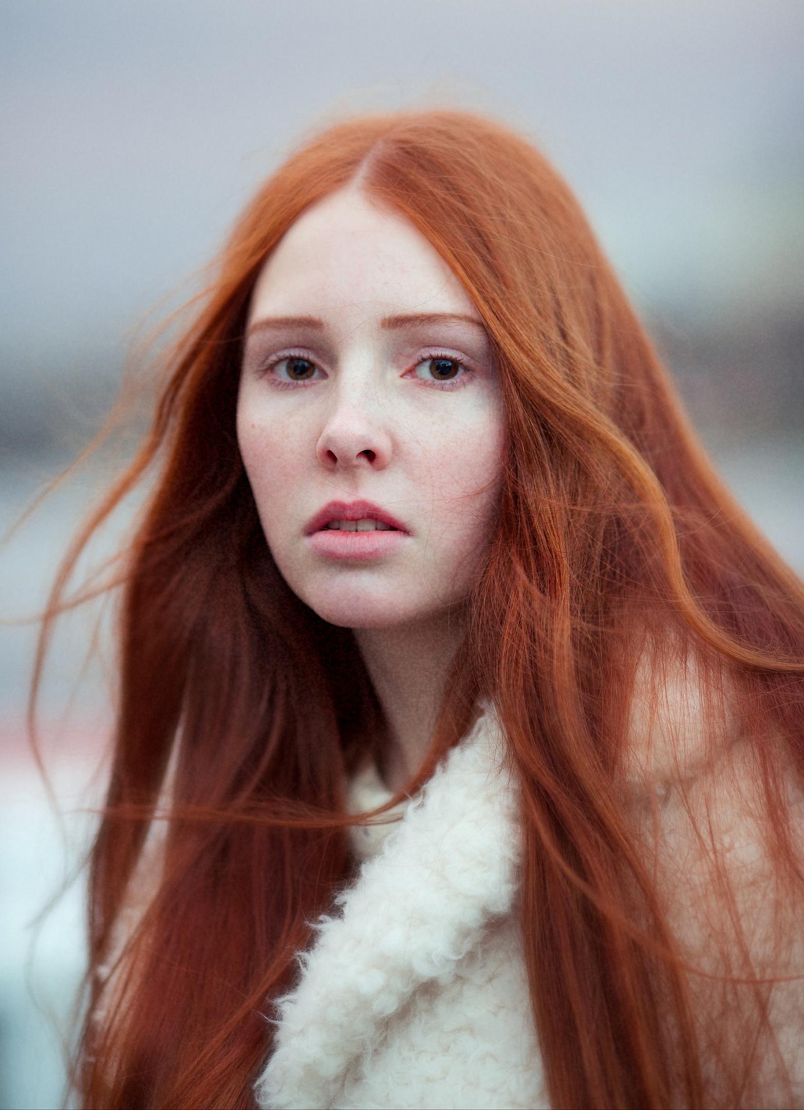 Redhead corpus women — 13