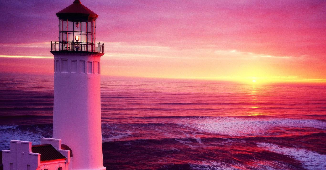 Sfondi tramonto mare cielo alba calma sera torre for Sfondi desktop hd paesaggi