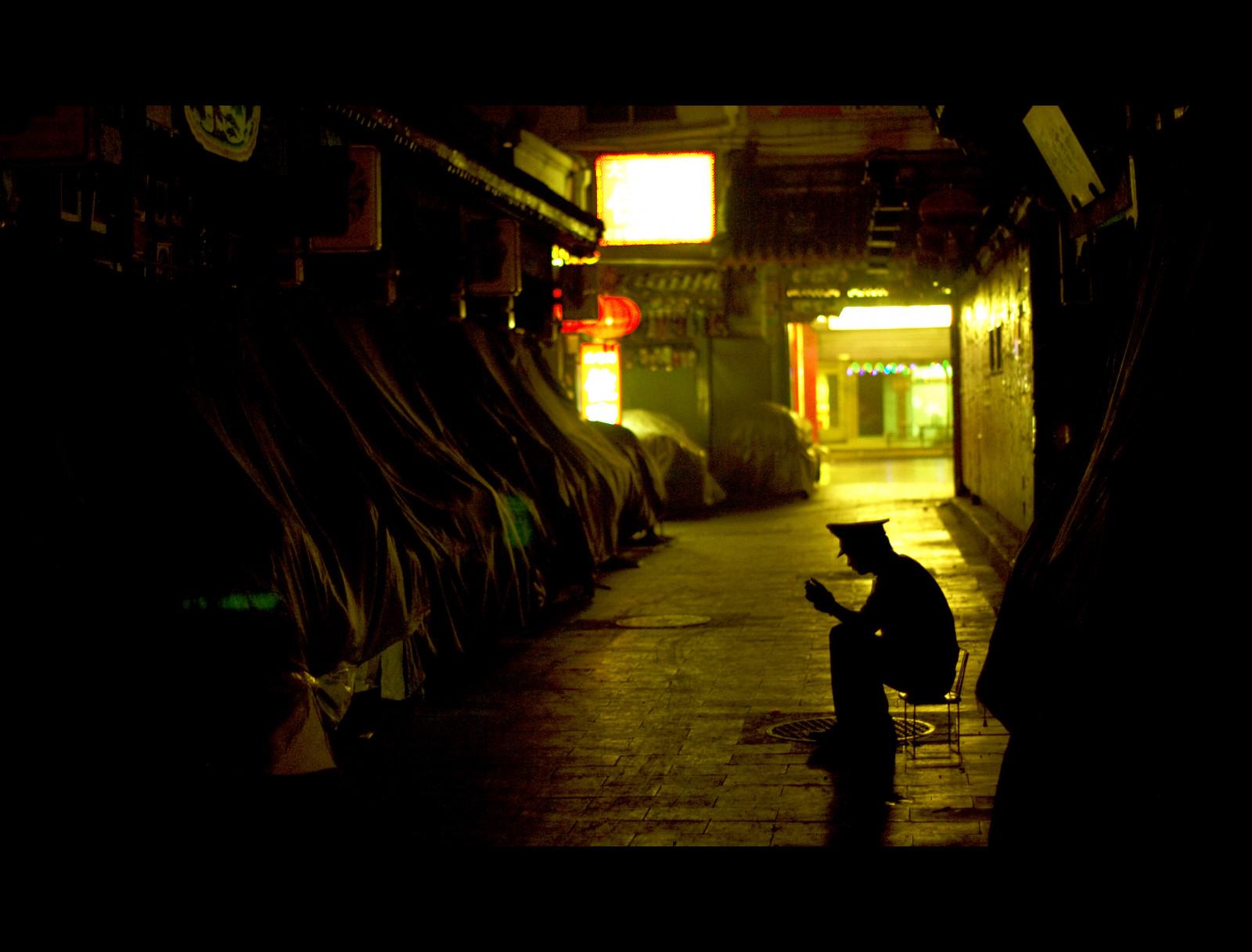 Wallpaper : street light, night, China ...