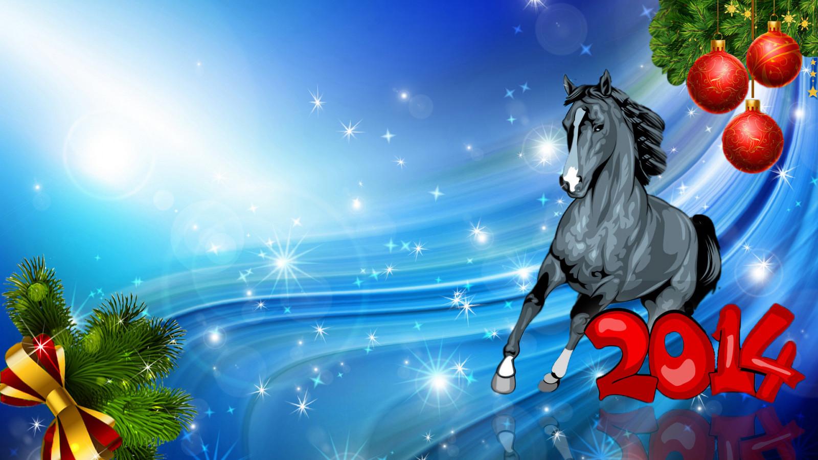 Картинки про, прикольные картинки к новому году 2014 лошадей