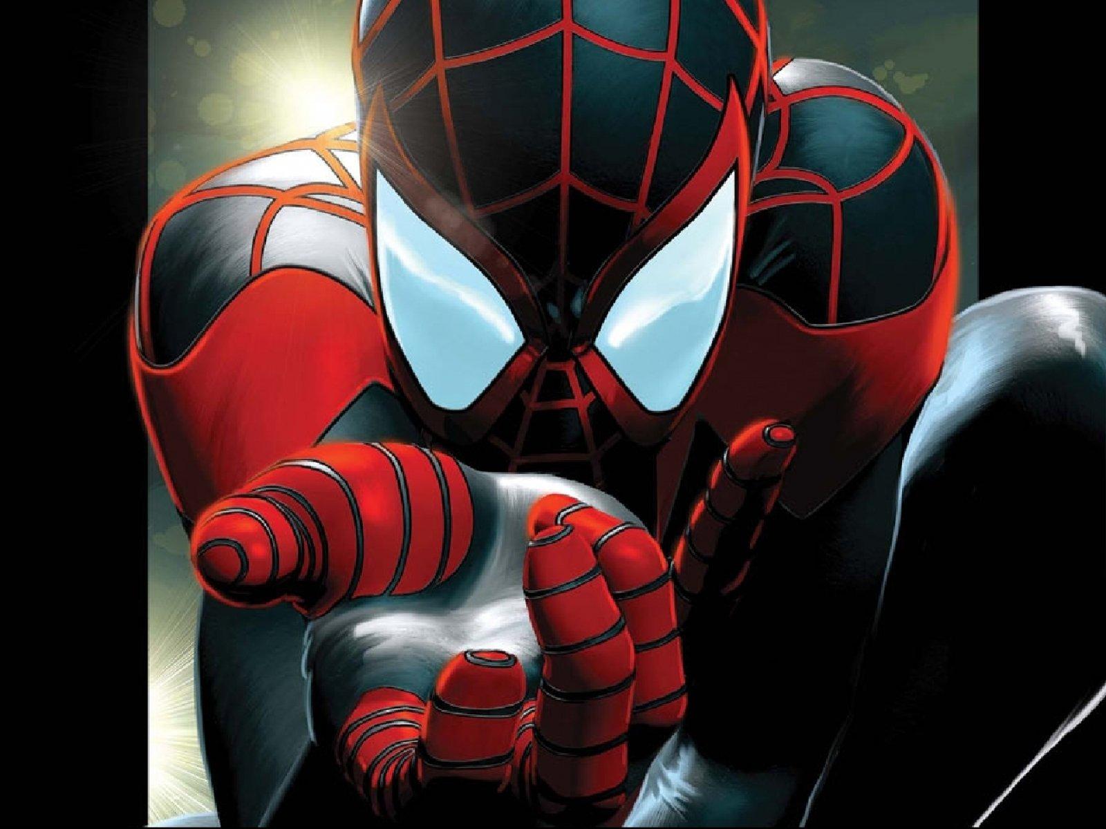 картинки с красным и черным человеком пауком течение десятилетий