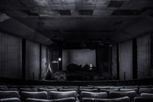 Wallpaper Black Space Room Movies Interior Design