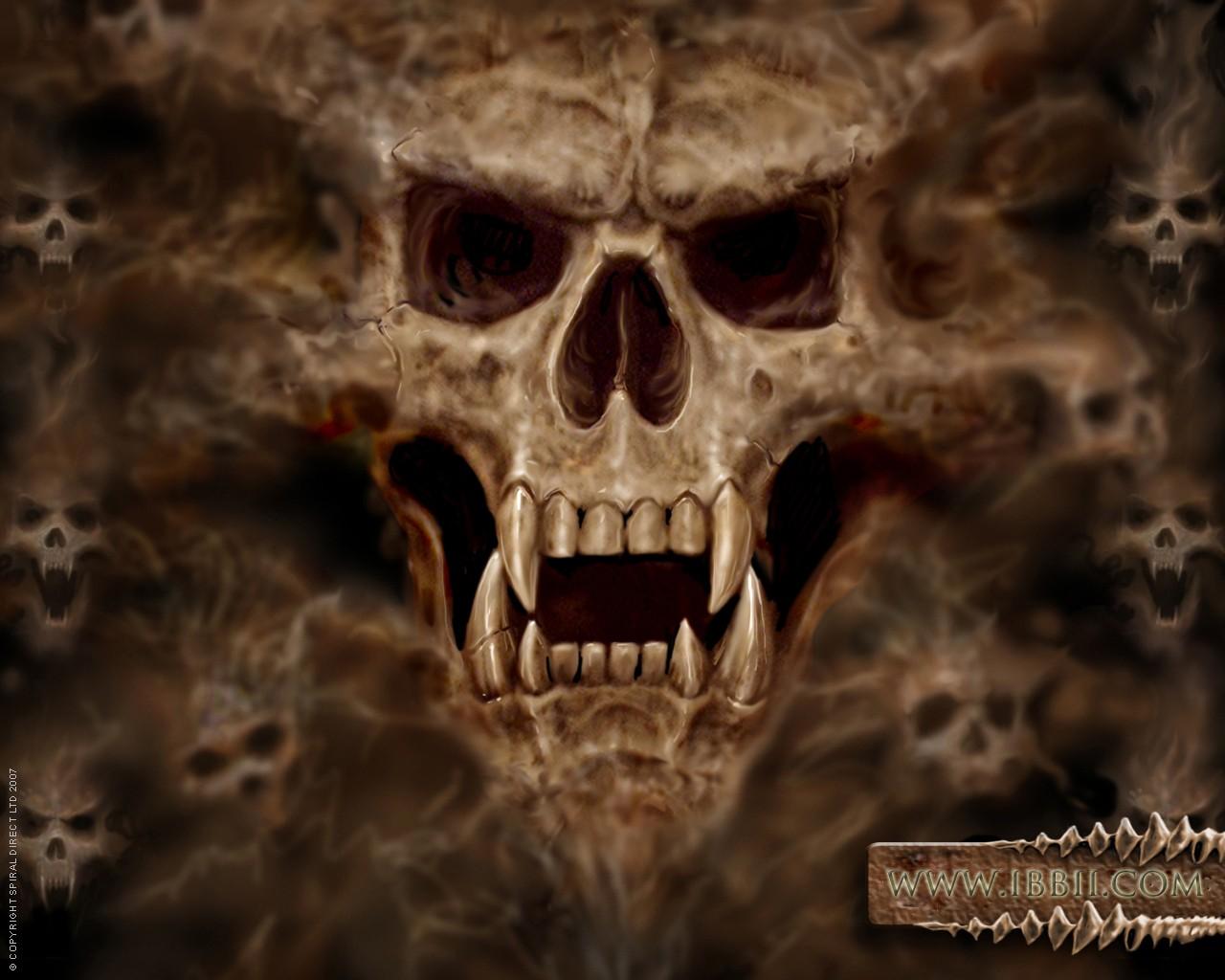 Картинки с черепами страшные