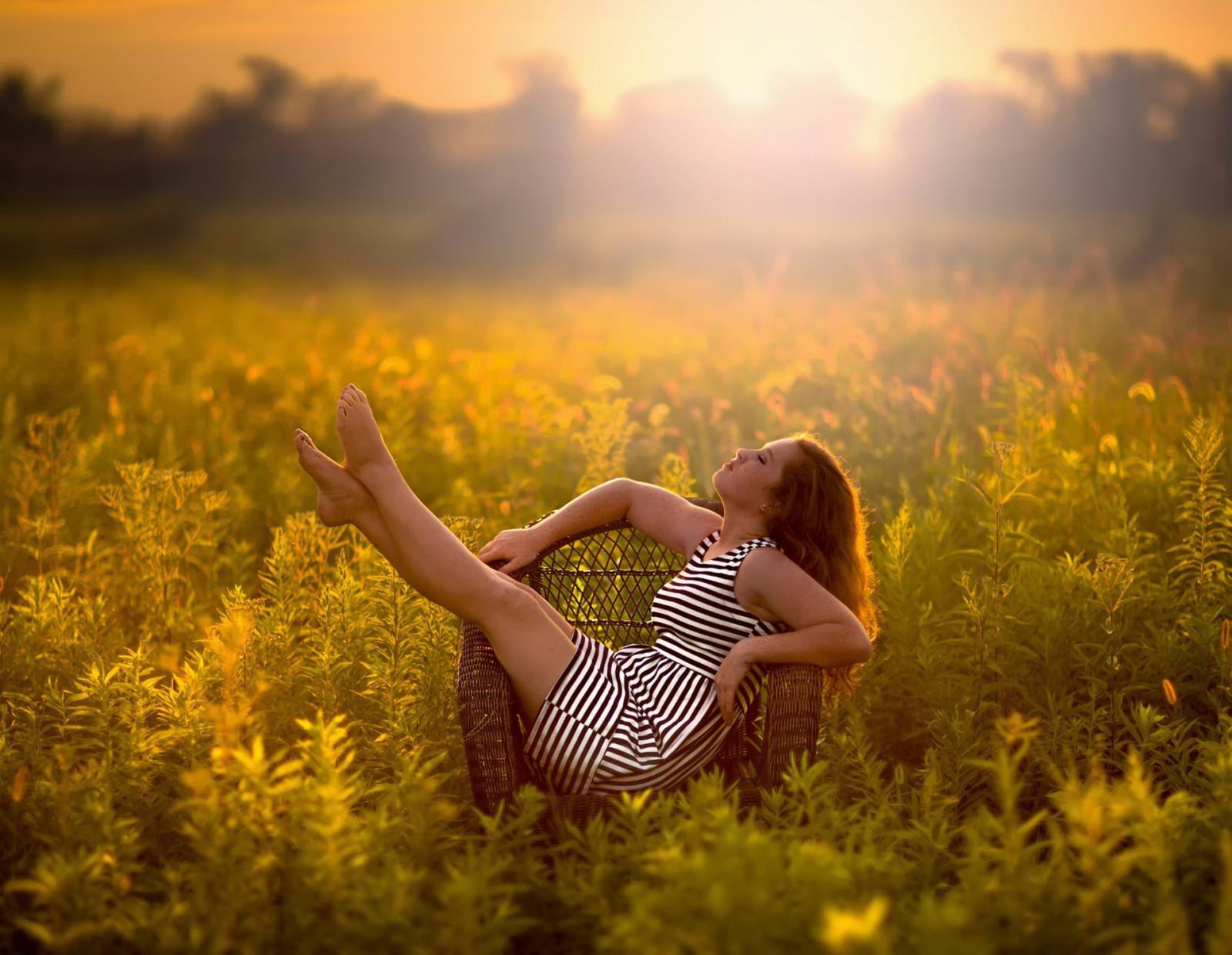 Фото красивых девушек в лучах солнца, Девушка в лучах солнца Girl in the sun Похожие фото 7 фотография