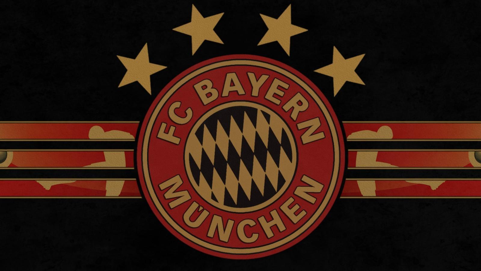 Wallpaper Ilustrasi Logo Bendera Bayern Munich Bayern