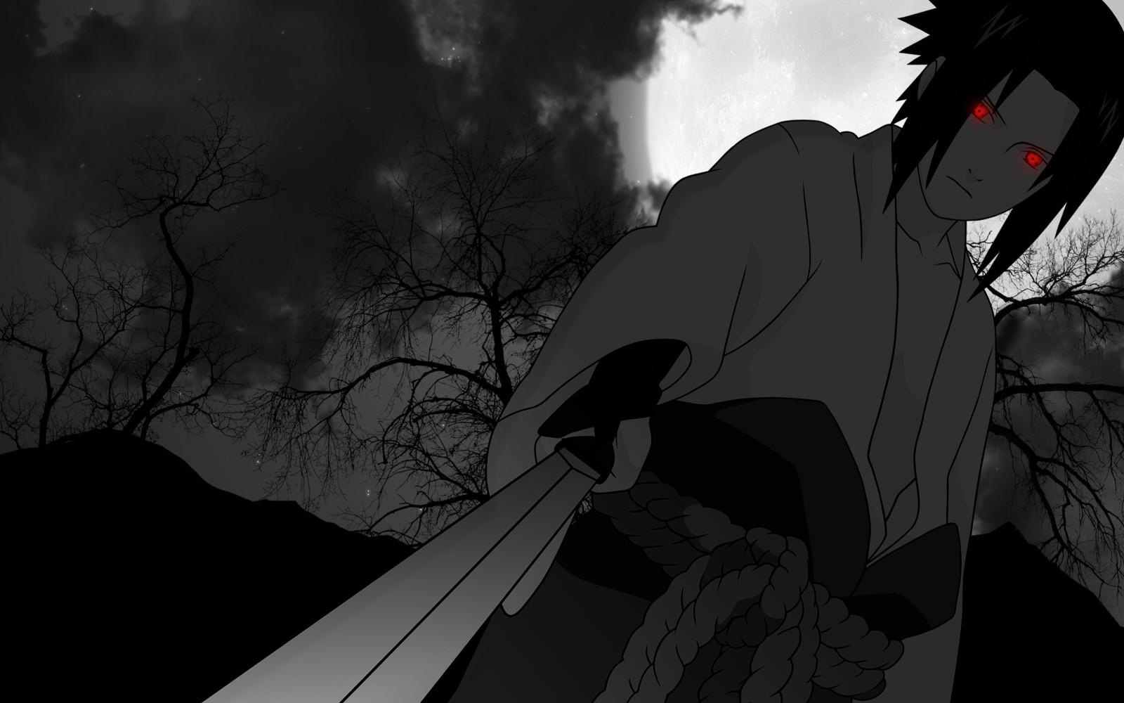 Fond D Ecran Monochrome Anime Yeux Brillants Naruto Shippuuden Sharingan Uchiha Sasuke Minuit Obscurite Capture D Ecran Noir Et Blanc Photographie Monochrome Personnage Fictif 1600x1000 Questionablecontext 243672 Fond D Ecran Wallhere