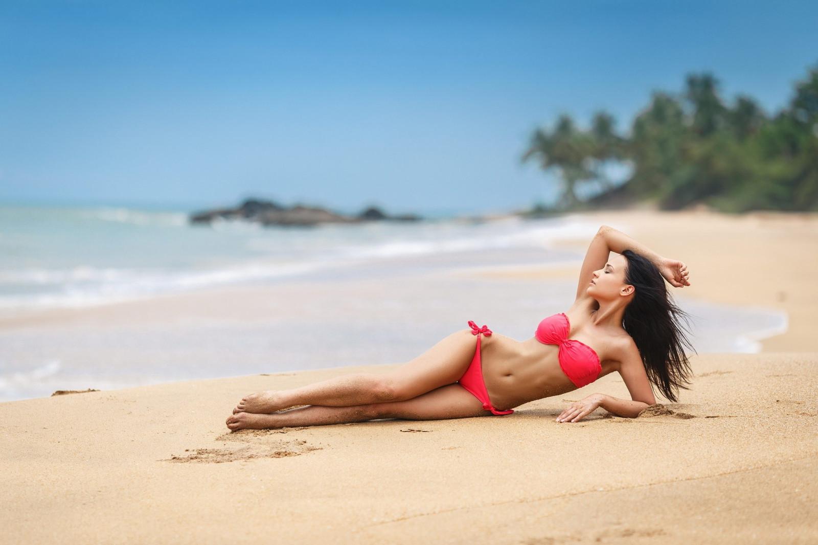 Портфолио девушек на турецком пляже