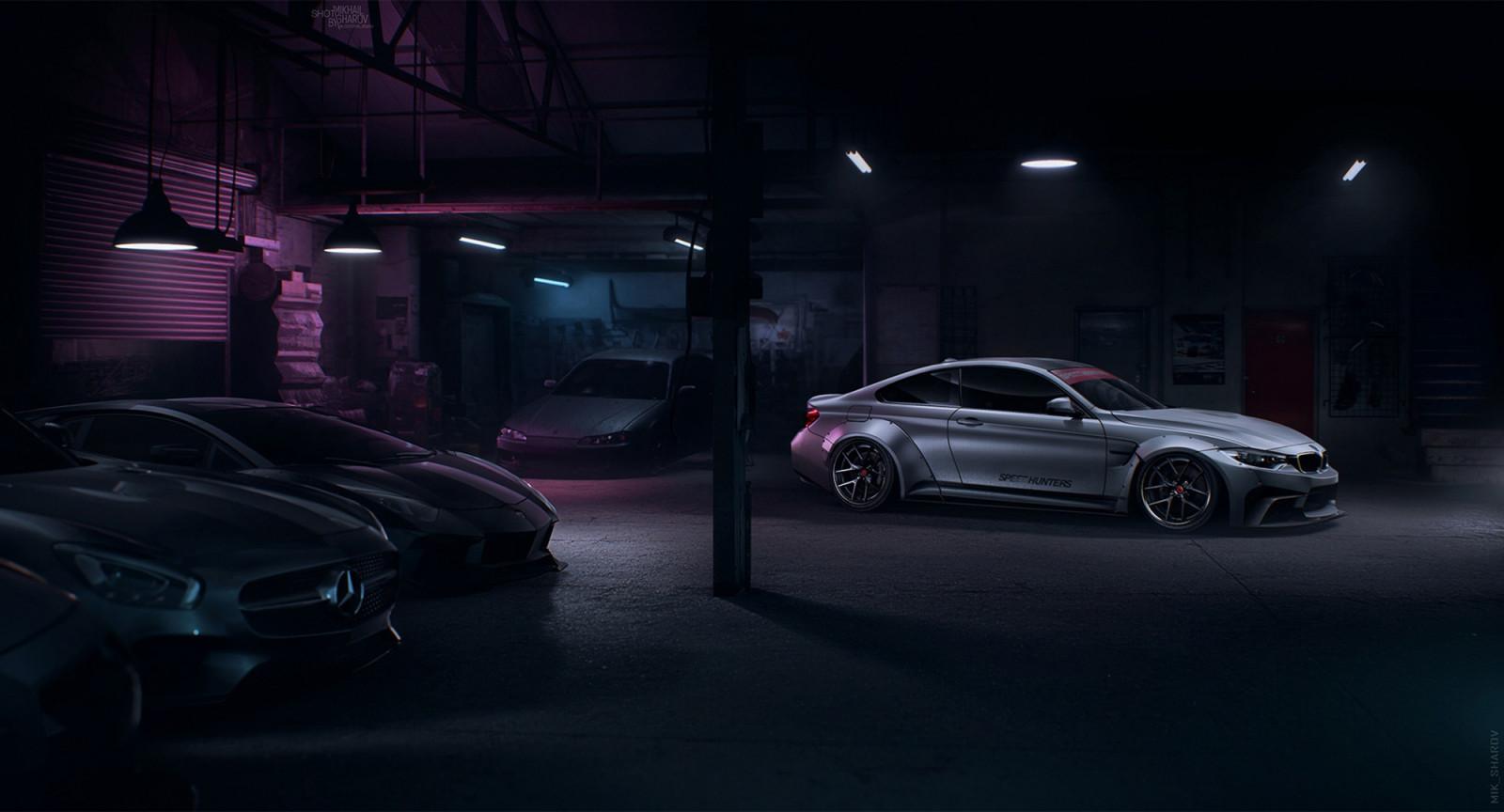 Wallpaper Dark Vehicle Car Bmw Mercedes Benz