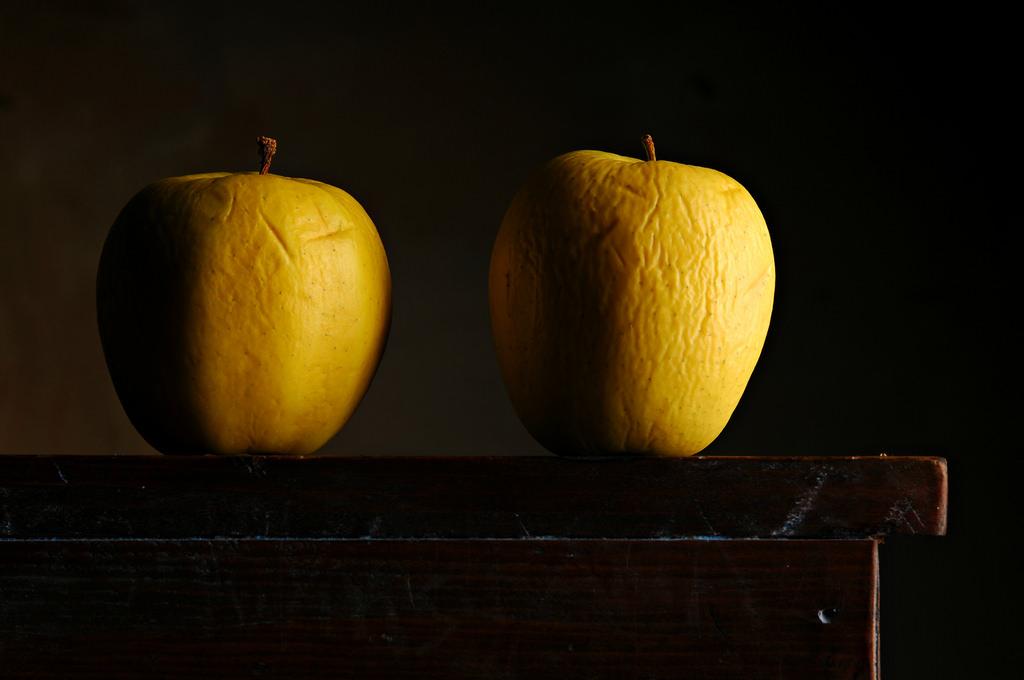 Masaüstü Boyama Meyve Sarı Elmalar Portakal Ikizler Jack O