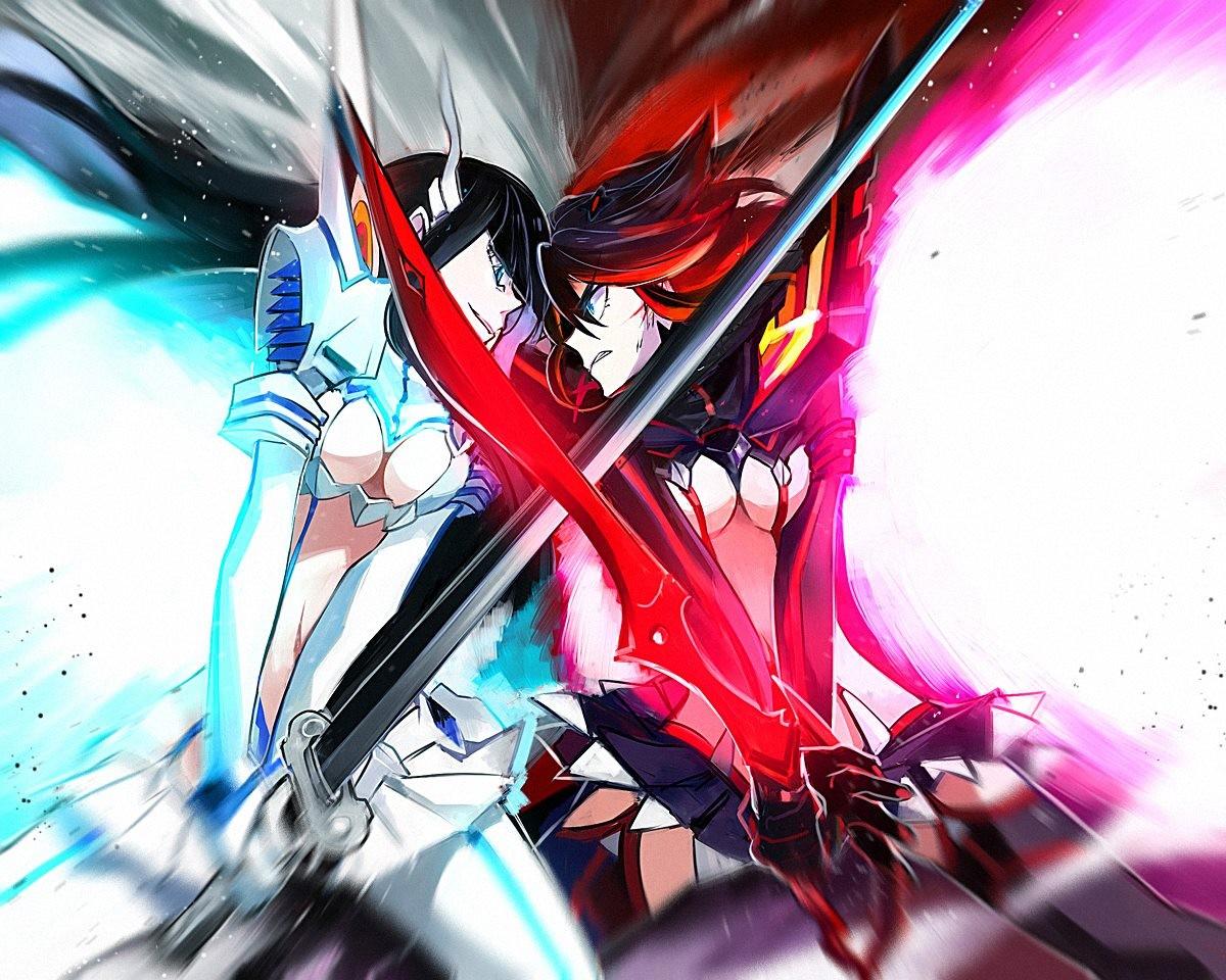 Wallpaper : illustration, anime girls, Kill la Kill, Matoi ...