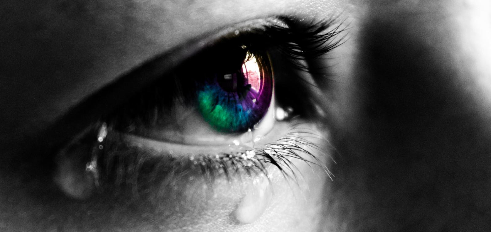 Марта, картинки глаза в слезах