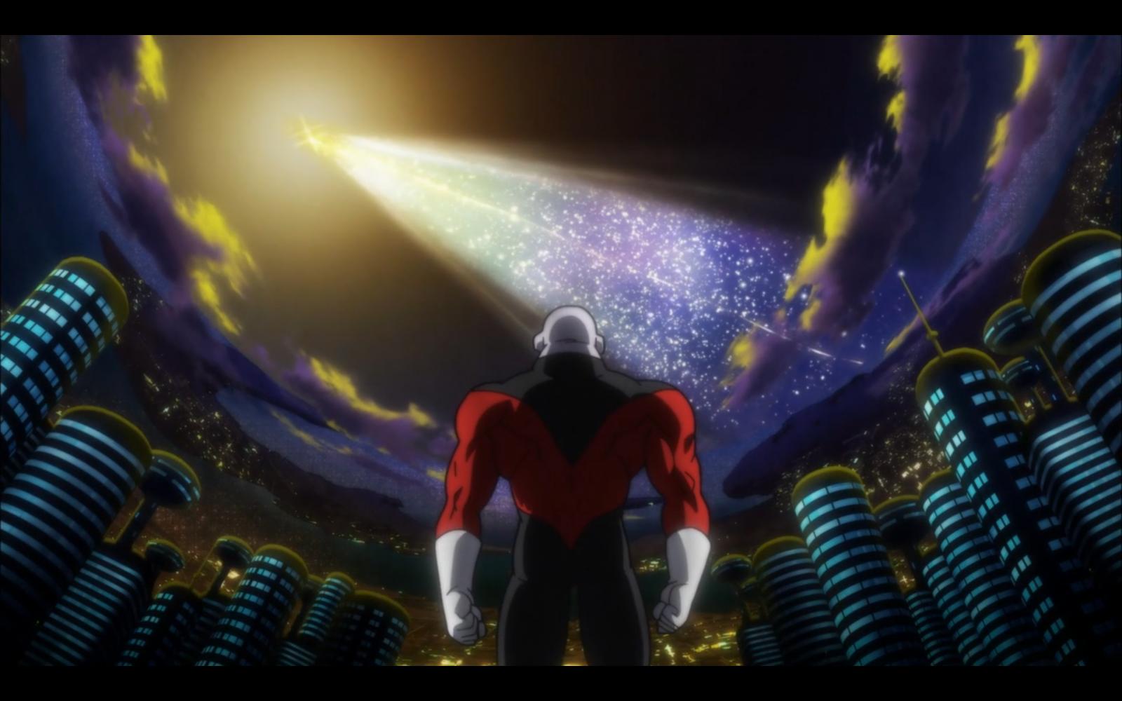 Wallpaper : Dragon Ball Super, jiren, anime, sky, stars ...