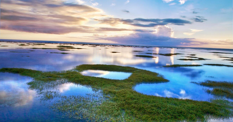 Sfondi Paesaggio Mare Acqua Puntellare Riflessione Erba