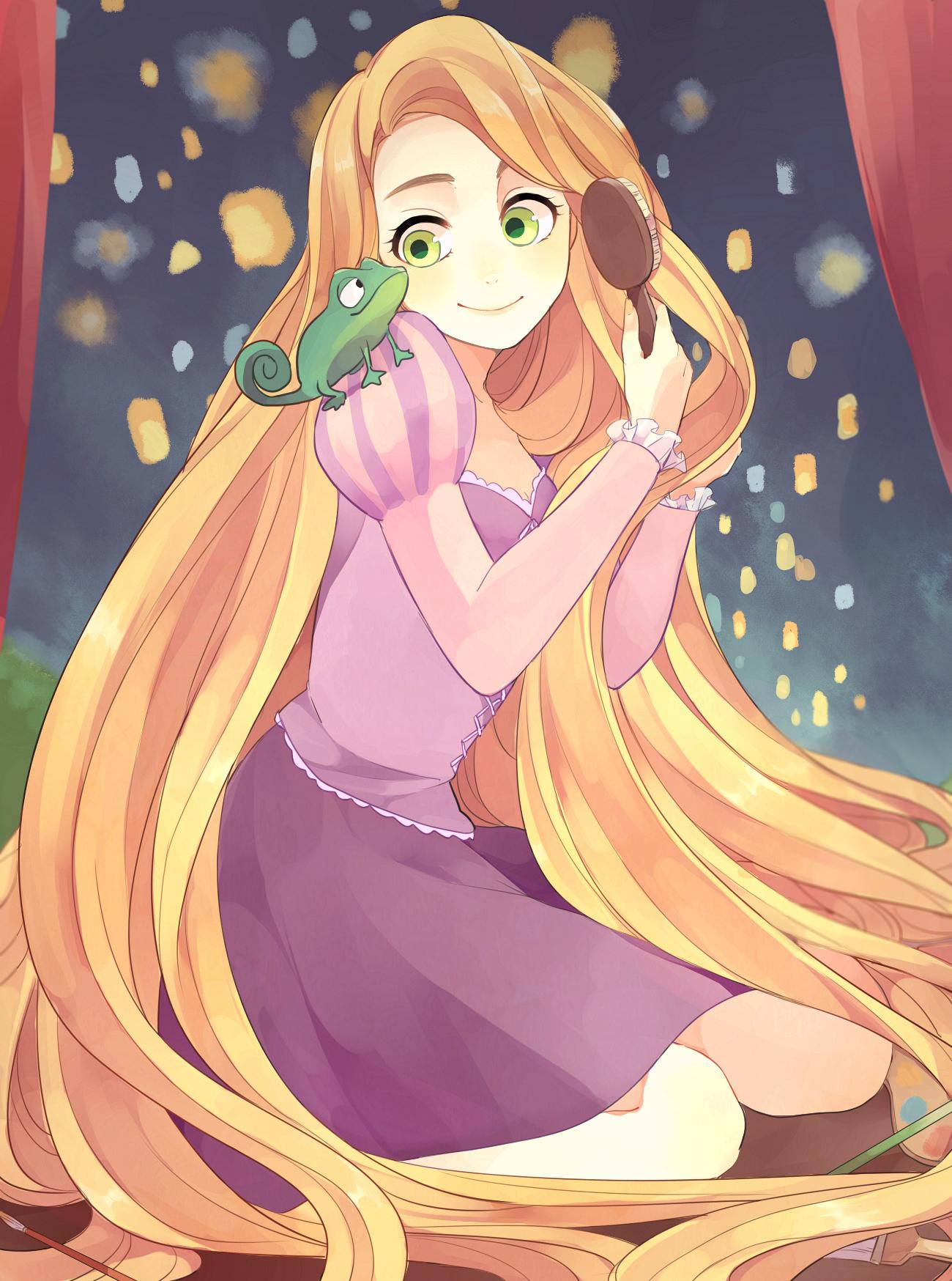 Sfondi cartone animato walt disney ingarbugliato rapunzel