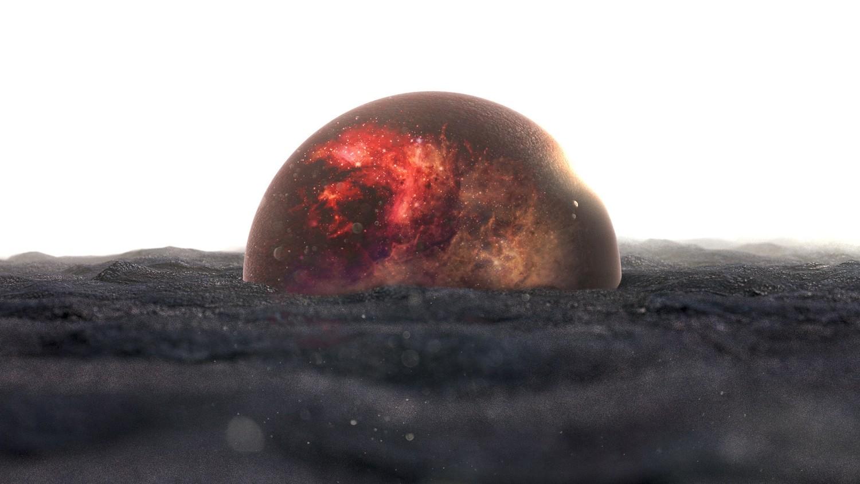 Fond d\'écran : galaxie, planète, le sable, marbre, univers ...