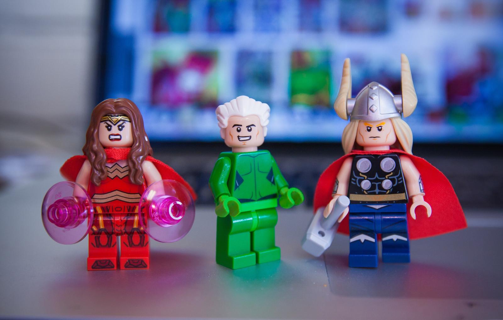 Wallpaper : classic, scarlet, comics, Jack, Kirby, LEGO ...