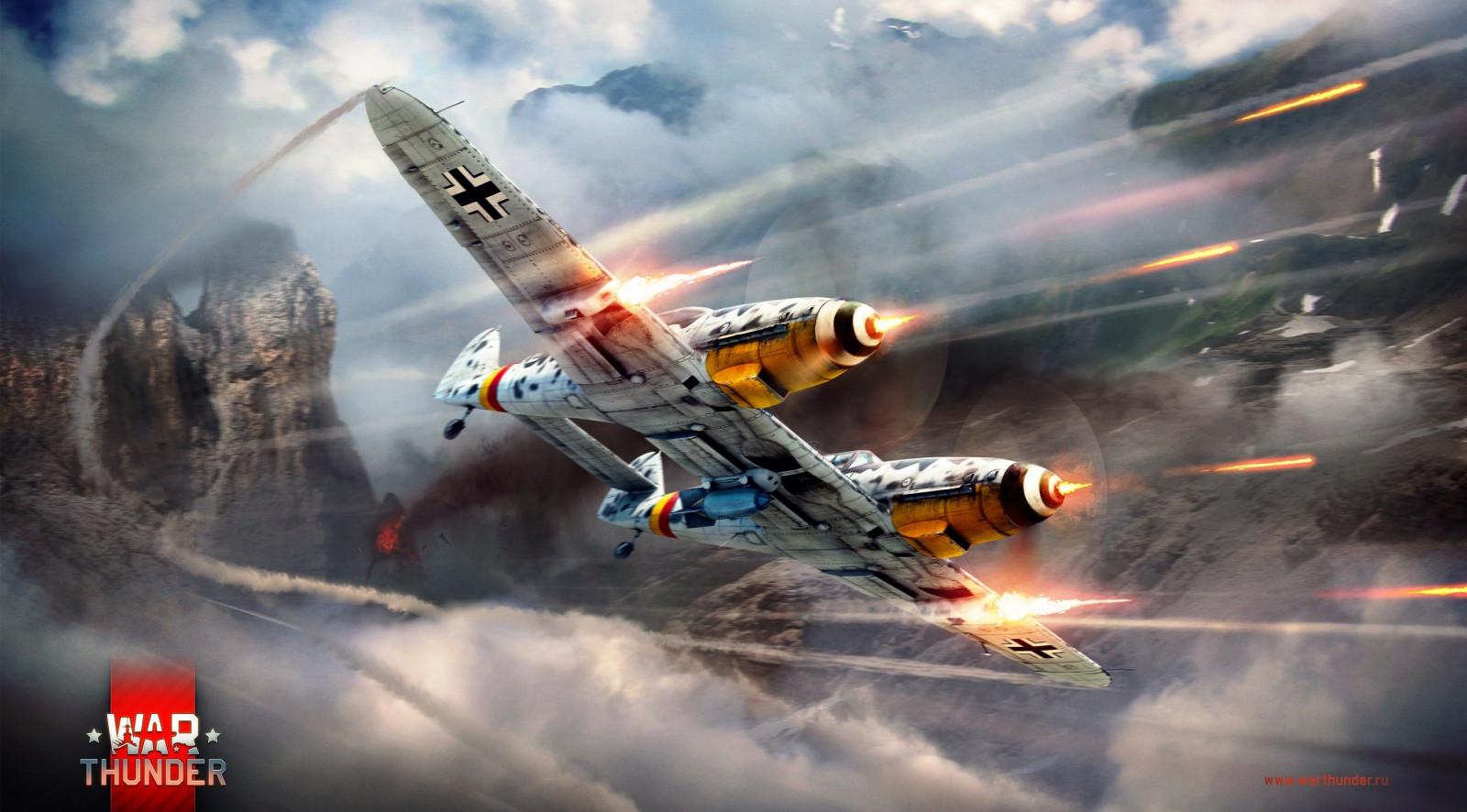Wallpaper : War Thunder, PC gaming, military aircraft, artwork 2558x1417 - WallpaperManiac ...