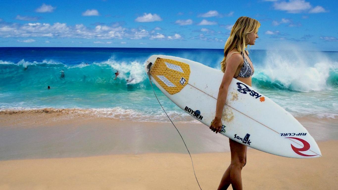 デスクトップ壁紙 女性 ビーチ おもちゃ ウィンドサーフィン