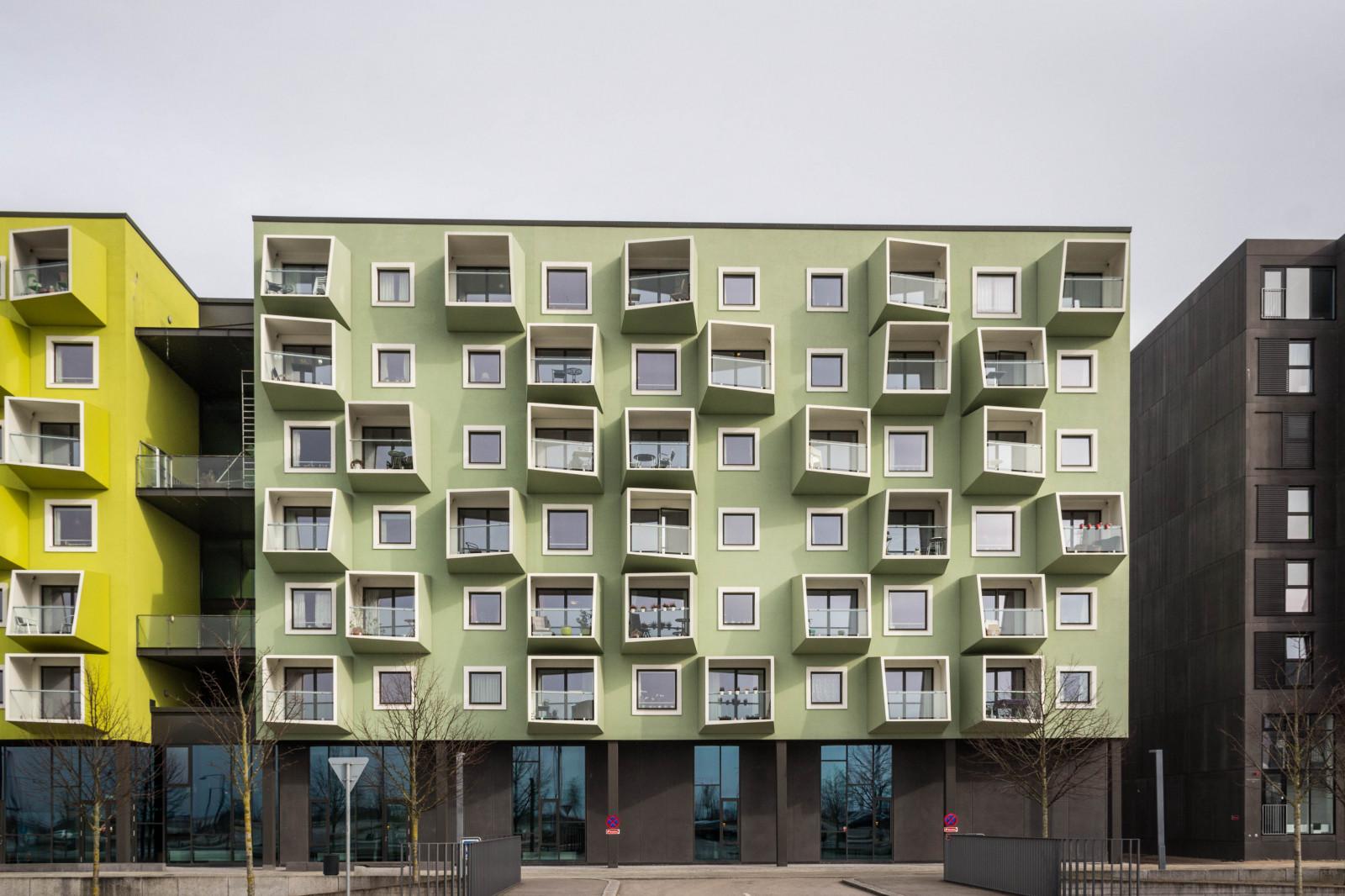 Обои : архитектура, здание, балкон, дизайн интерьера, дания,.