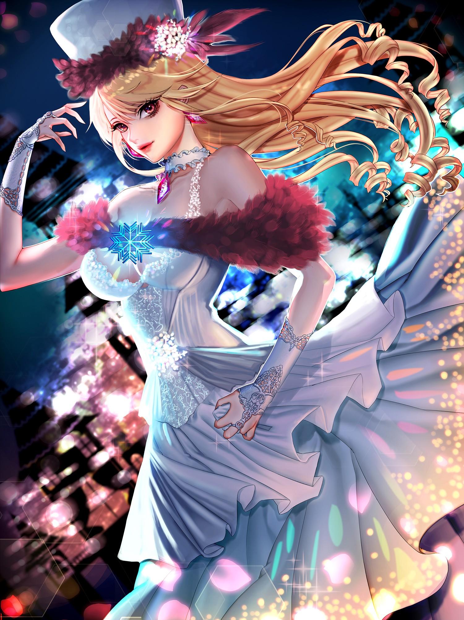 Fondos De Pantalla Ilustración Anime Chicas Anime