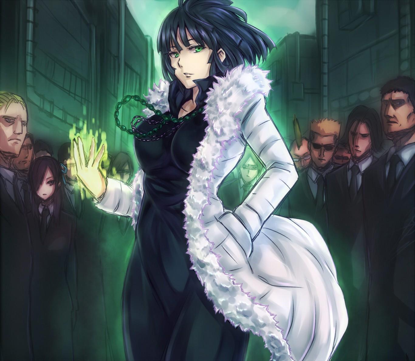 Wallpaper Anime Girls Fubuki One Punch Man Screenshot