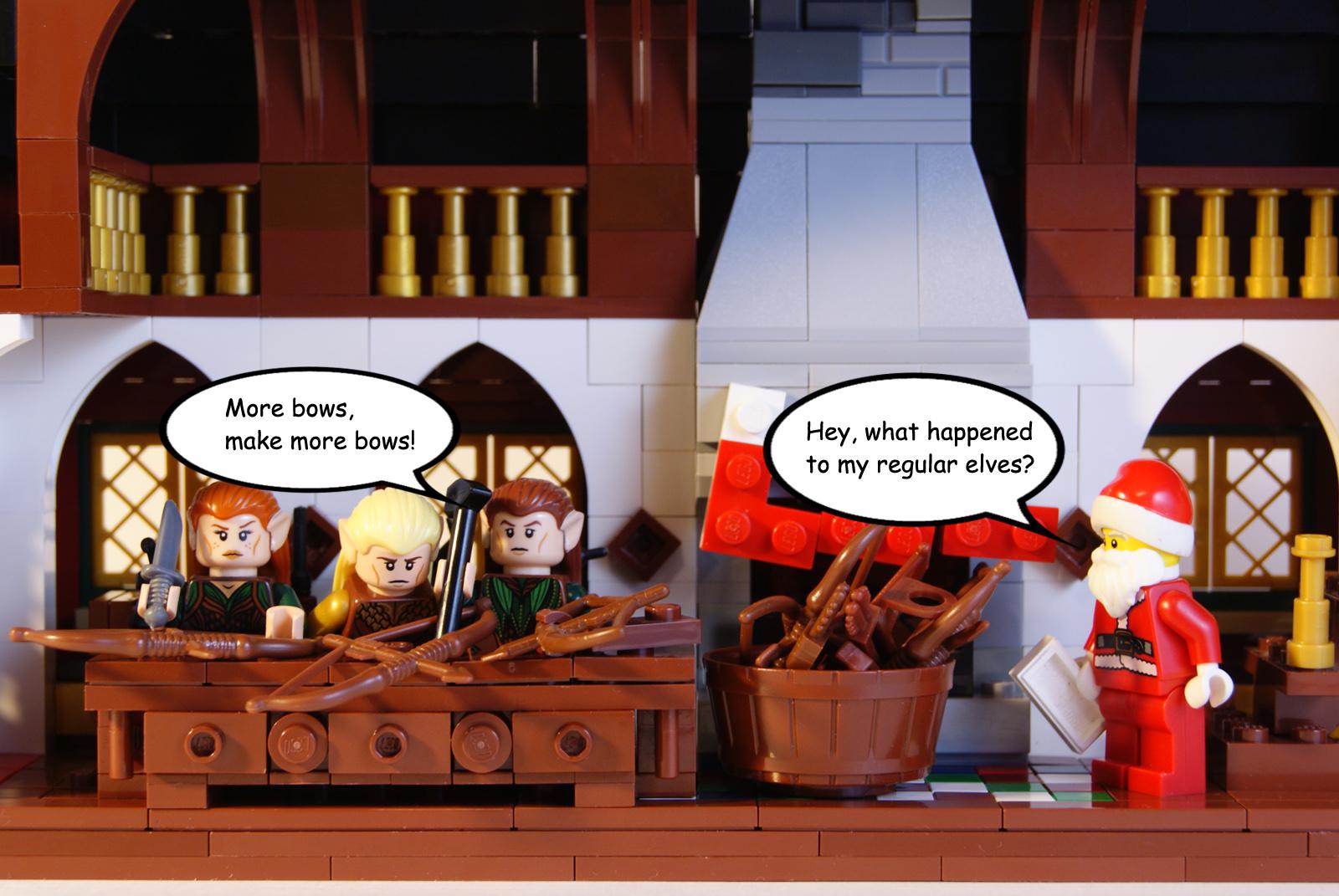 prezzo migliore allacciarsi dentro stili classici Sfondi : divertente, comico, LEGO, lotr, Babbo Natale ...