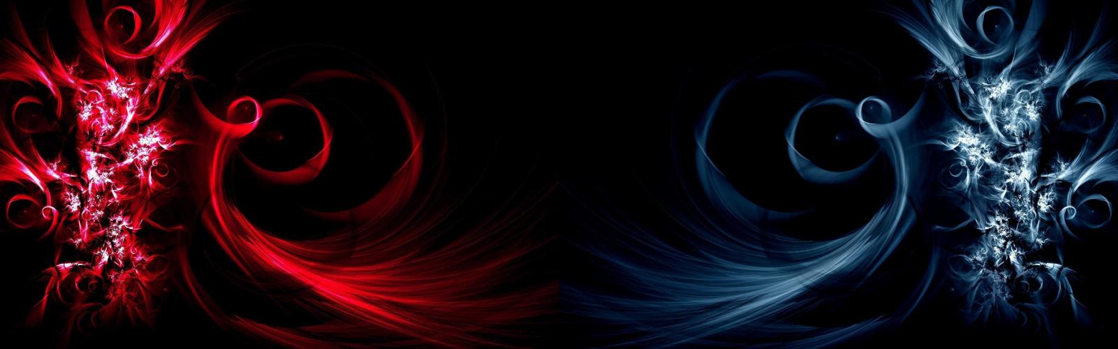 Как сделать две разные картинки на двух мониторах