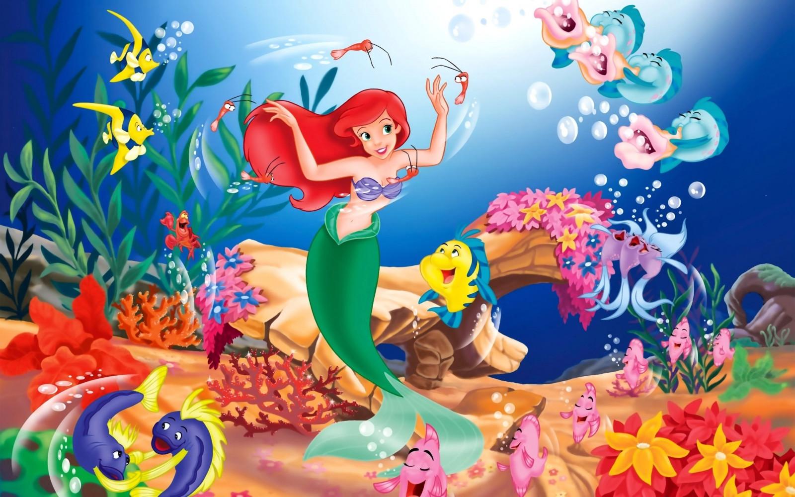 Giochi gratis di sirene che nuotano