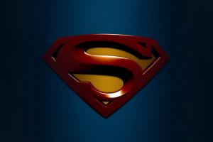 Fond d 39 cran rouge super h ros superman symbole - Symbole de superman ...