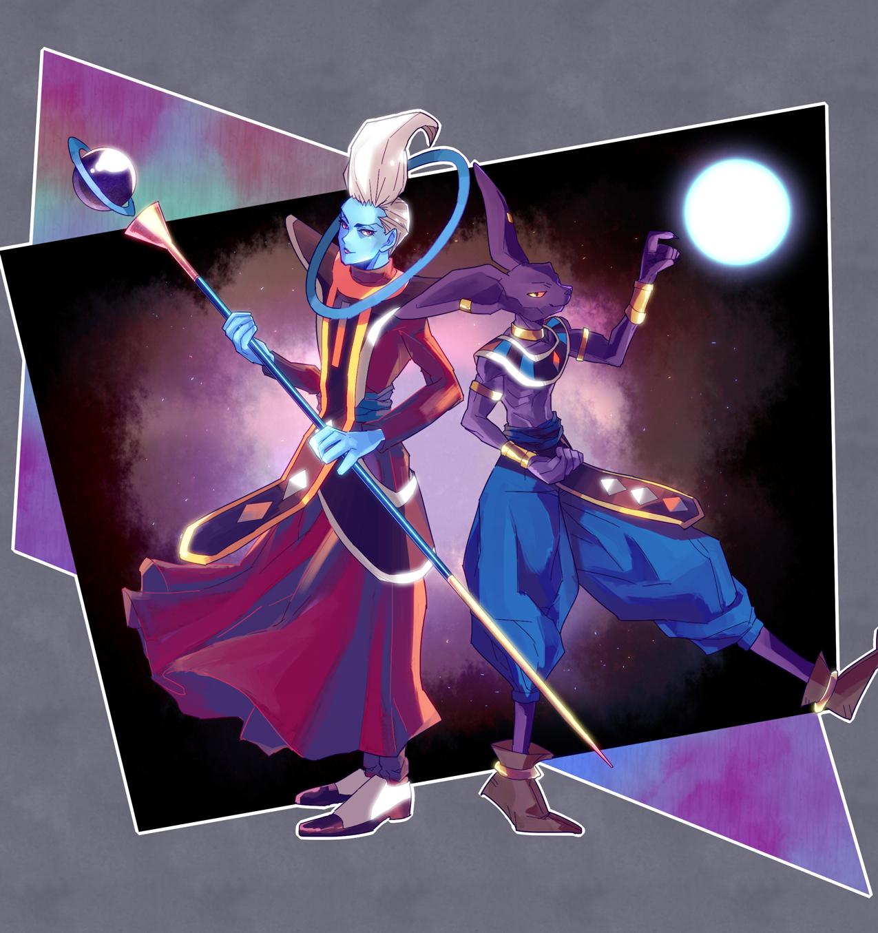 Wallpaper Illustration Anime Dragon Ball Super Toy Whis