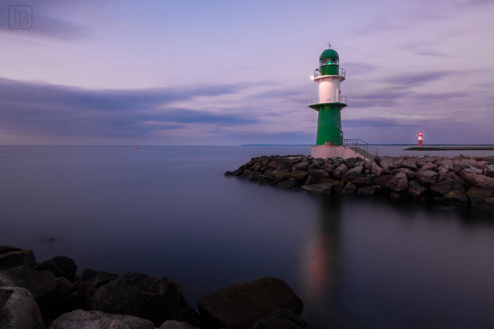 Fond d'écran : mer, eau, rive, réflexion, ciel, calme, soir, la tour, côte, phare, horizon ...