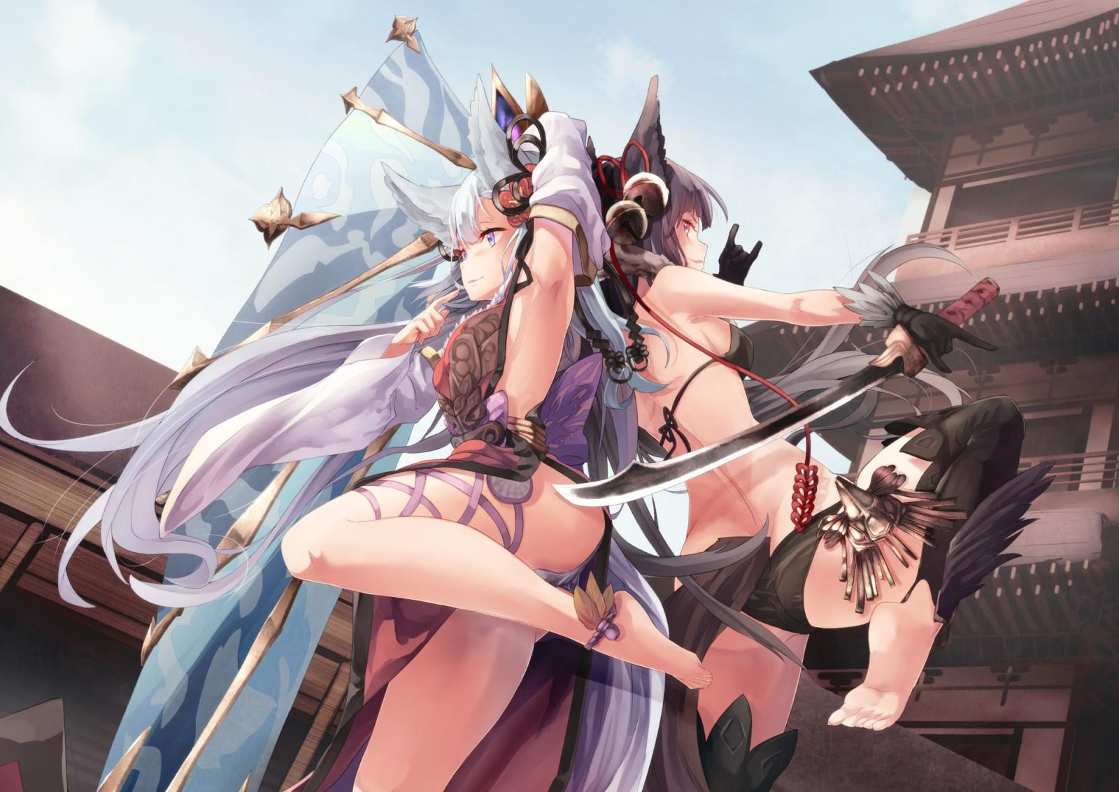 Baggrunde anime anime piger dyre rer hale r v - Granblue fantasy yuel wallpaper ...
