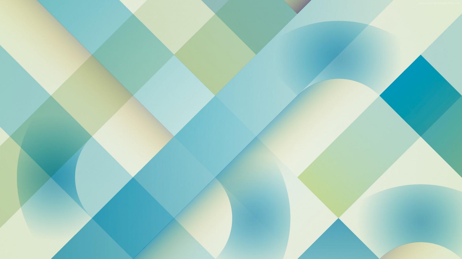 Wallpaper ilustrasi abstrak karya seni simetri hijau